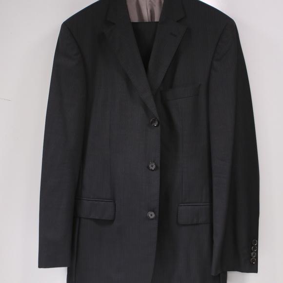 45342d9bf Hugo Boss Suits & Blazers | Scorsesemovie Men Super 120s Suit 40l ...